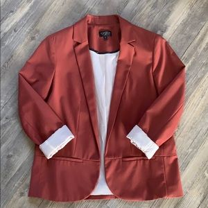 Topshop Rust Blazer - Perfect for Fall 🍂🍁